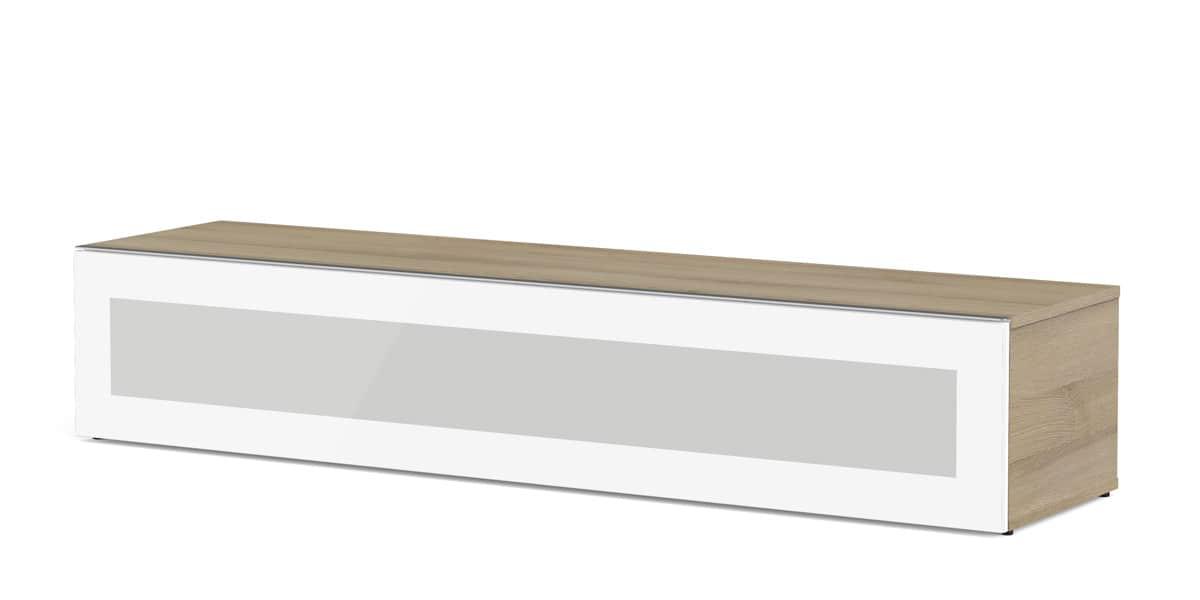 Meliconi boston 160 bois clair meubles tv meliconi sur for Meuble tv meliconi
