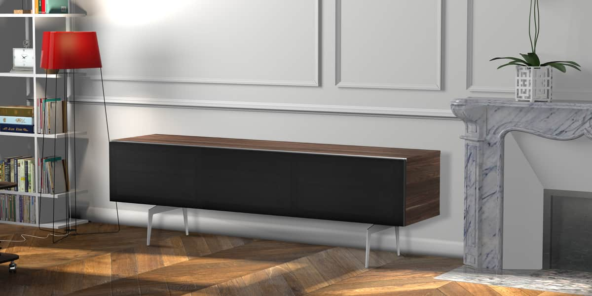 meliconi darwin 160 bois fonc meubles tv meliconi sur. Black Bedroom Furniture Sets. Home Design Ideas
