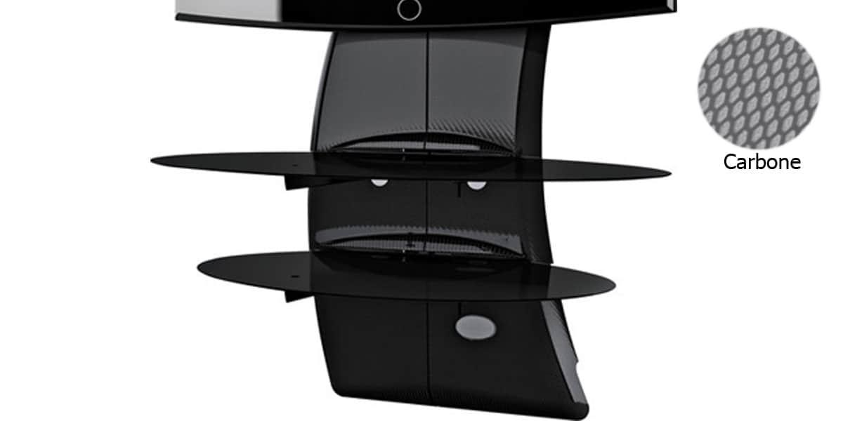 meliconi ghostdesign2000 carb meubles tv meliconi sur easylounge. Black Bedroom Furniture Sets. Home Design Ideas