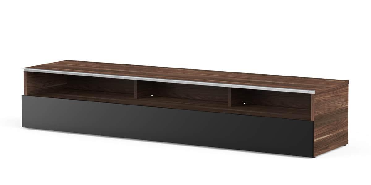 meliconi detroit 160 bois fonc meubles tv meliconi sur. Black Bedroom Furniture Sets. Home Design Ideas