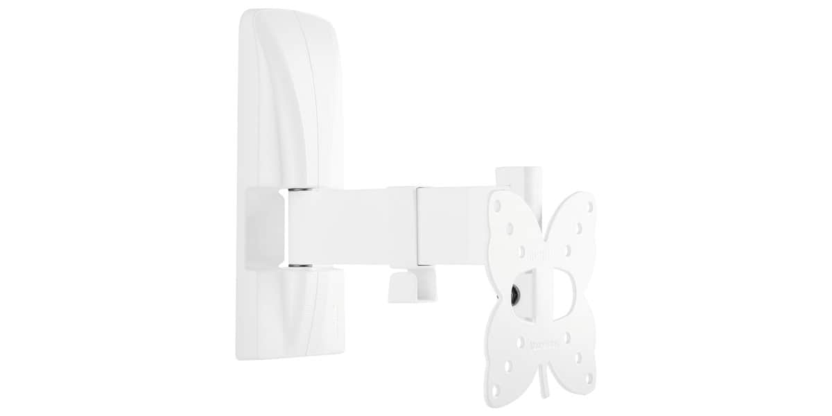 Meliconi 100 sr blanc supports tv muraux sur easylounge - Support tv mural blanc ...