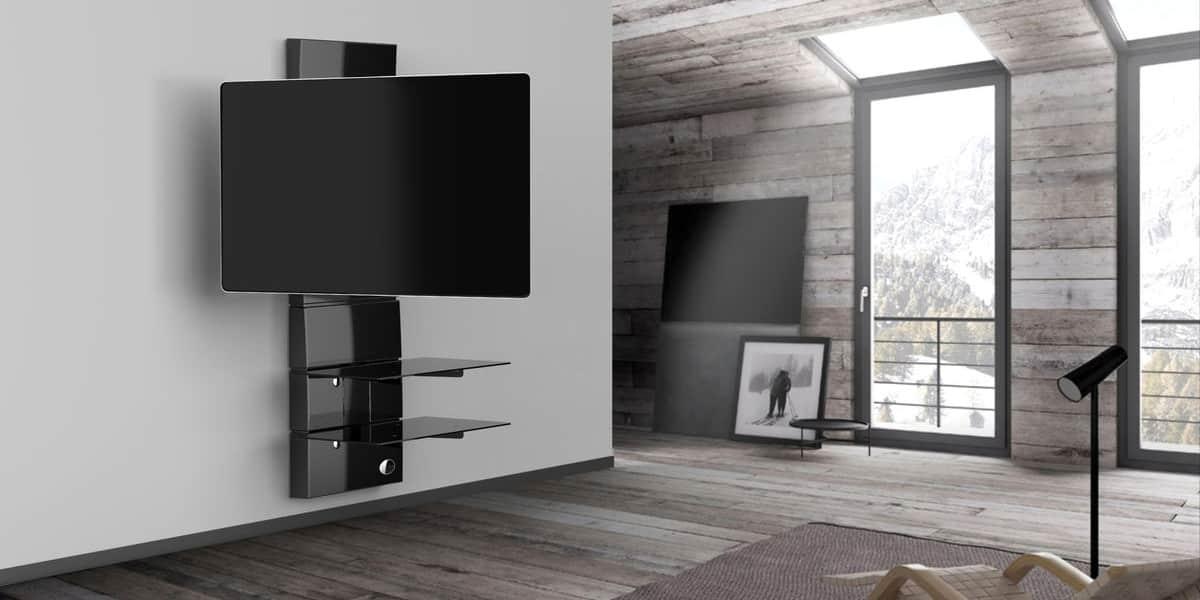 Meliconi ghost design 3000r noir meubles tv meliconi sur for Design 2000 mobili