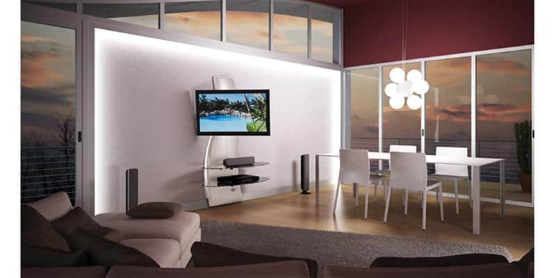 meliconi ghost design 2000 dr blanc easylounge. Black Bedroom Furniture Sets. Home Design Ideas