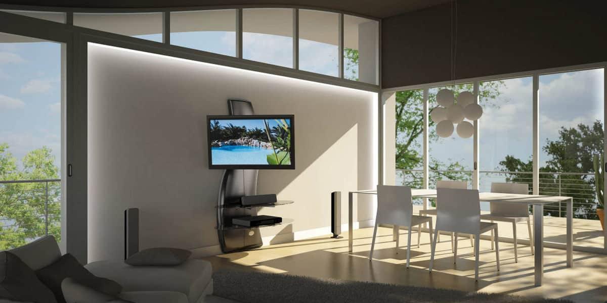 Meliconi ghost design 2000 dr carbone easylounge - Carrello porta tv meliconi ...