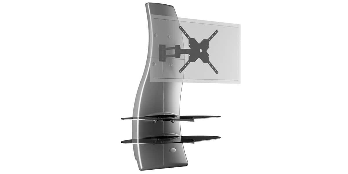 meliconi ghost design 2000 dr silver easylounge. Black Bedroom Furniture Sets. Home Design Ideas