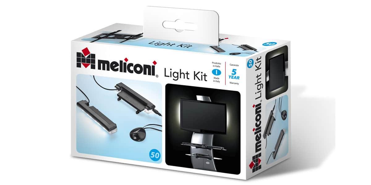 Meuble Tv Meliconi : Kit Lumière Pour Support Et Meuble Meliconi Meliconi 488065