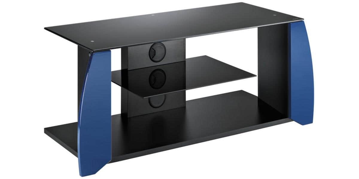 meliconi night noir bleu meubles tv meliconi sur easylounge. Black Bedroom Furniture Sets. Home Design Ideas