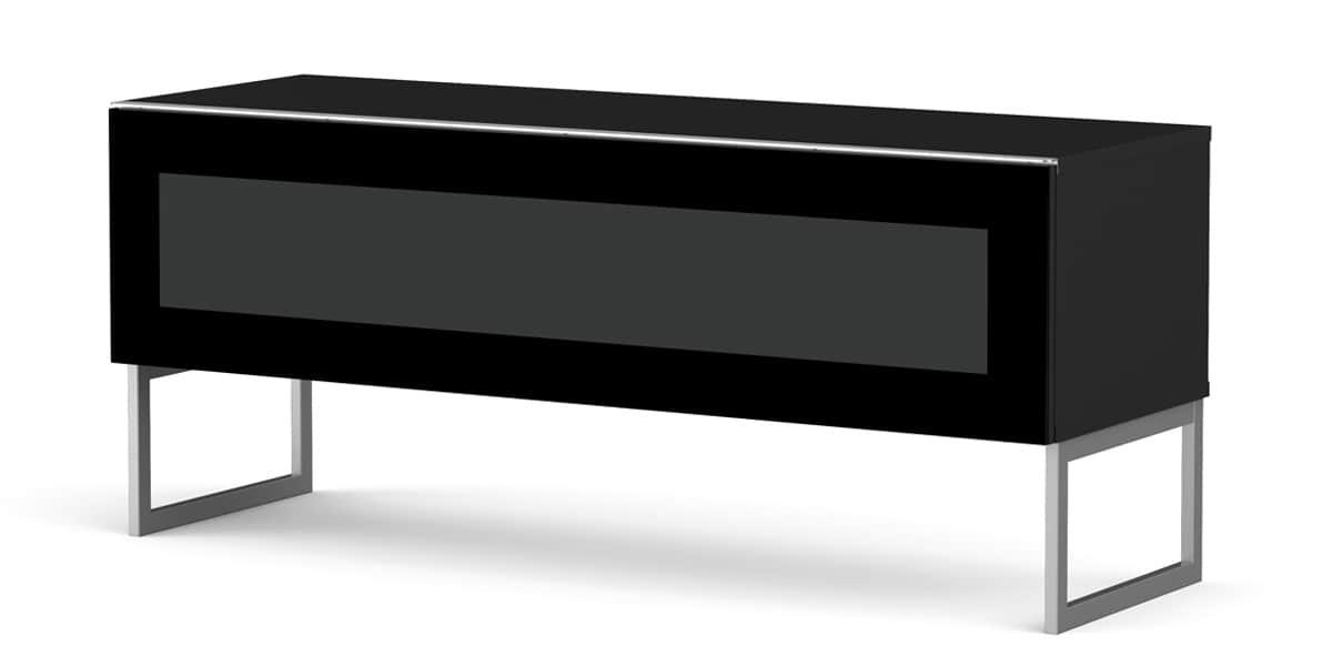 Meliconi verona 120 noir meubles tv meliconi sur easylounge for Meuble tv meliconi