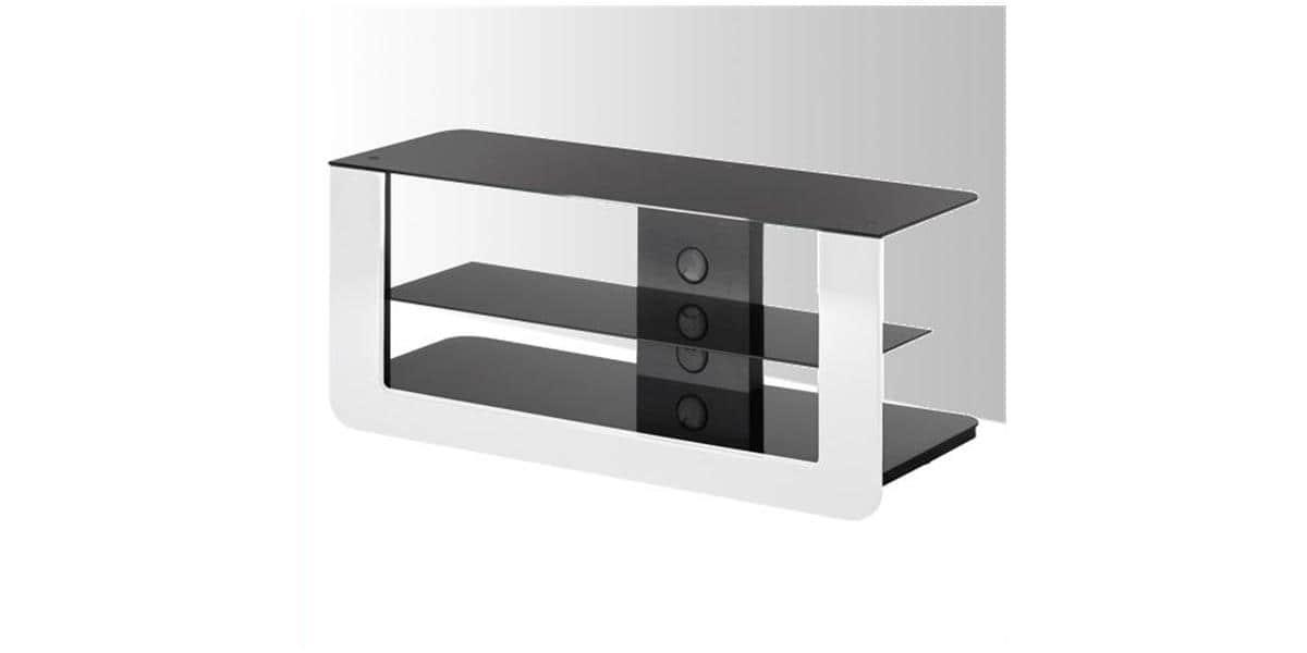Meuble Tv Meliconi : Meliconi – Meuble Pour Tv – 3 Plateaux -vision 300 Blanc