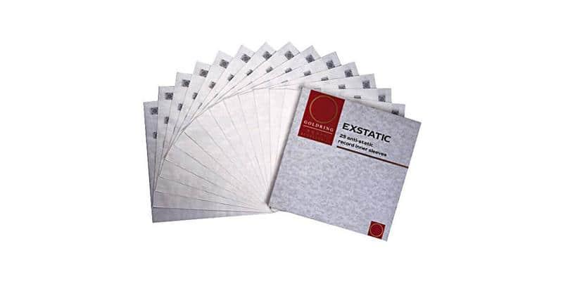 Goldring Pochettes anti-statiques (x25)