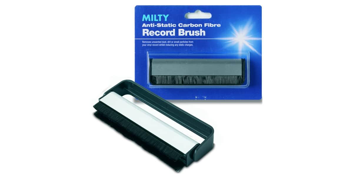 Milty Carbon Fibre Record Brush