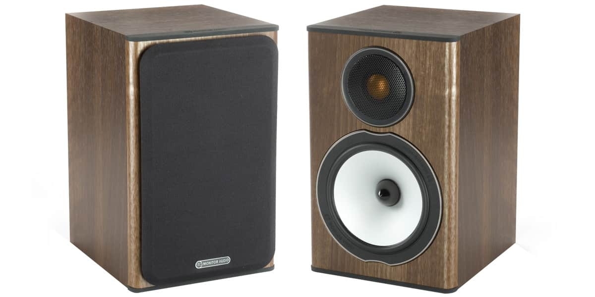 monitor audio bronze bx1 noyer easylounge