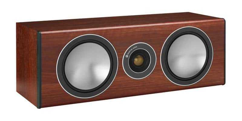 Monitor Audio Bronze Centrale Bois de Rose