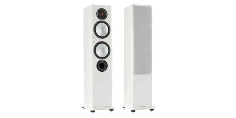 Monitor Audio Silver 6 Blanc laqué