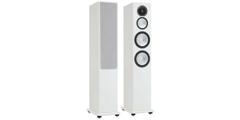 Monitor Audio Silver 8 Blanc Laqué