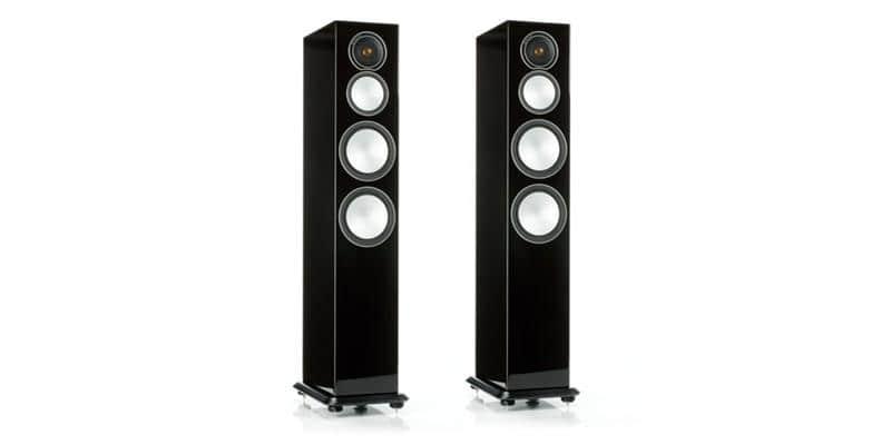 Monitor Audio Silver 8 Noir Laqué