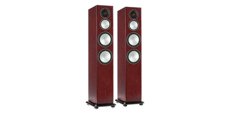 Monitor Audio Silver 8 Bois de rose