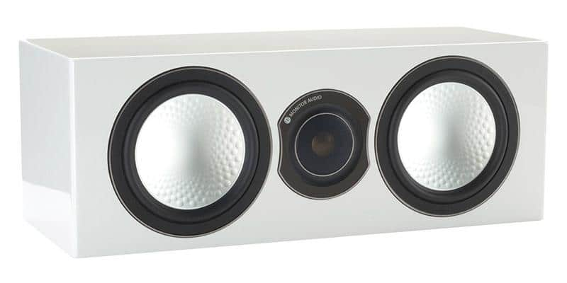 Monitor Audio Silver Centre Blanc Laqué