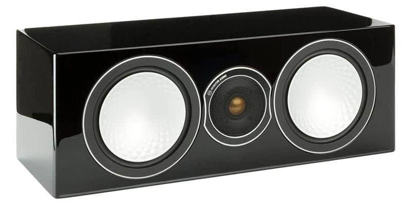Monitor Audio Silver Centre Noir Laqué