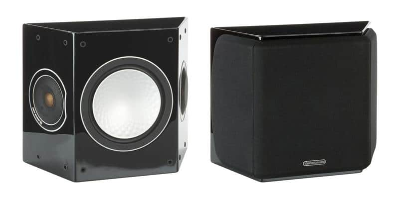 Monitor Audio Silver FX Noir laqué