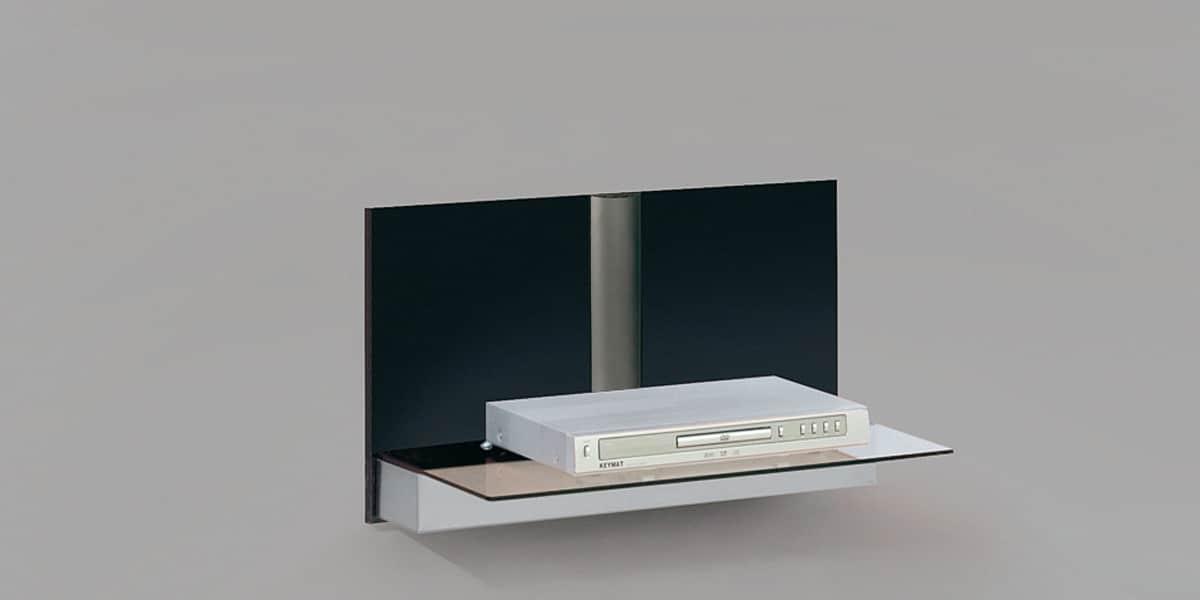 Munari belt02 weng meubles tv munari sur easylounge for Meuble mural wenge