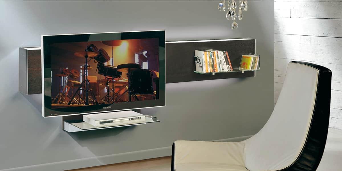 Munari belt03 weng meubles tv munari sur easylounge for Meuble tv mural miraz 03