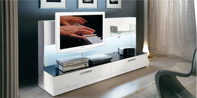 munari belt23 blanc meubles tv munari sur easylounge. Black Bedroom Furniture Sets. Home Design Ideas