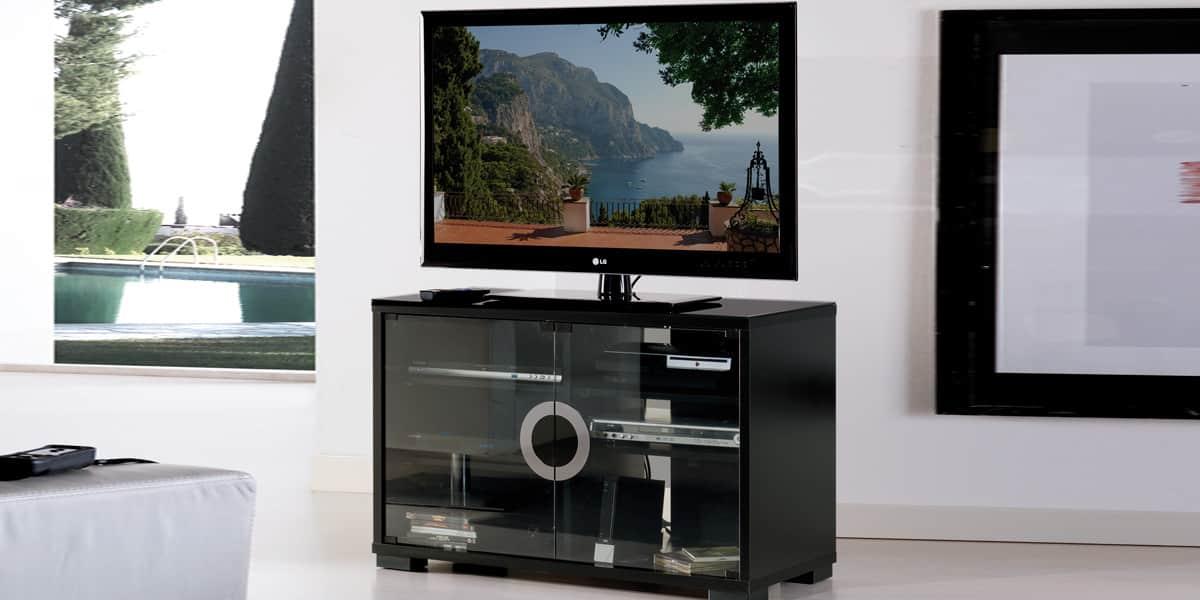 Meuble Tv Munari : Meuble Tv Munari Capri Ca100 Noir