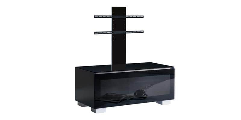 munari ge110 noir potence meubles tv munari sur easylounge. Black Bedroom Furniture Sets. Home Design Ideas