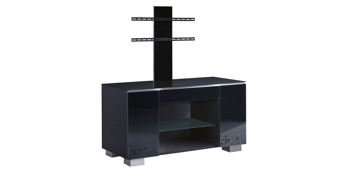 munari ge115 noir potence meubles tv munari sur easylounge. Black Bedroom Furniture Sets. Home Design Ideas