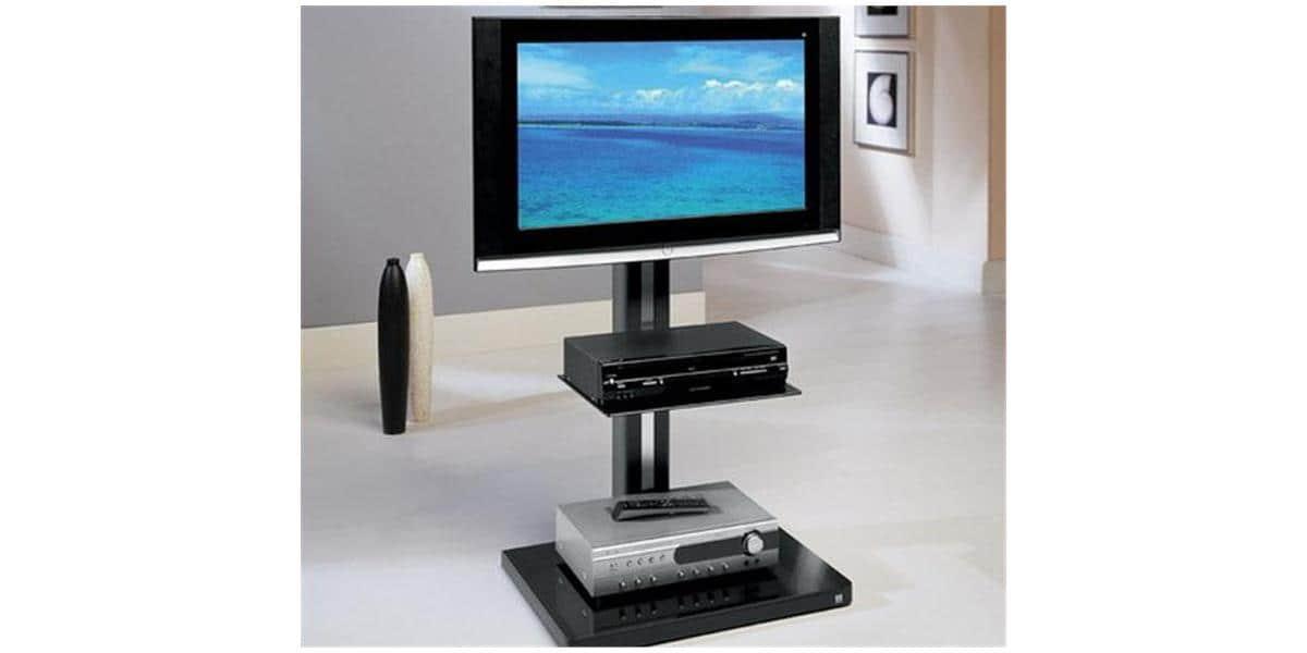munari cr330 noir supports tv sur pied sur easylounge. Black Bedroom Furniture Sets. Home Design Ideas