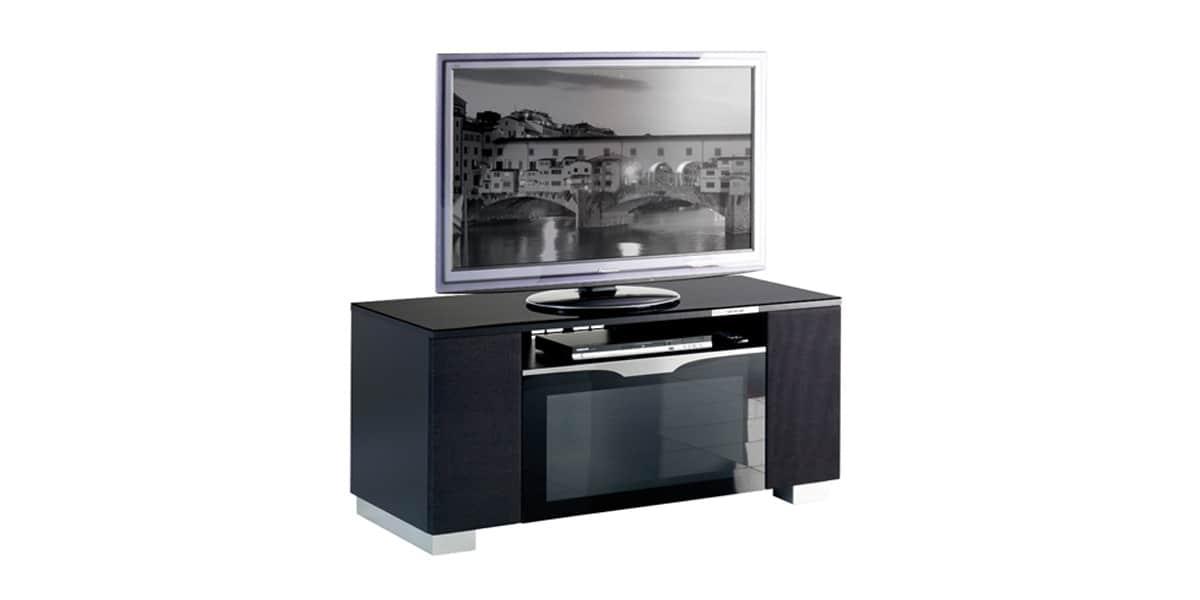 Munari fi126a noir meubles tv munari sur easylounge - Meuble tv infrarouge ...