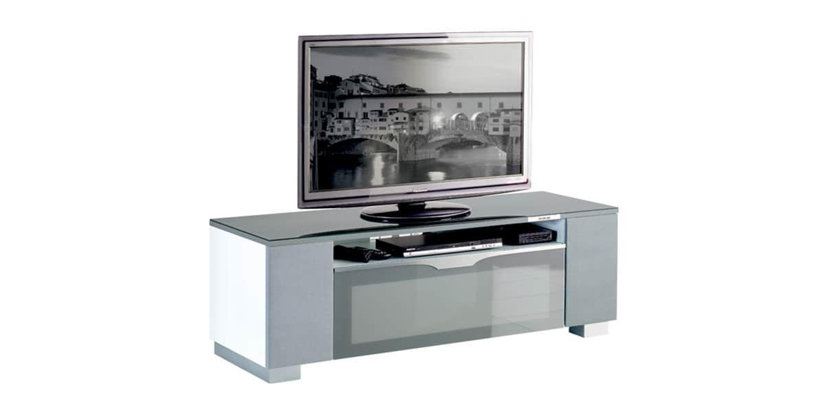 Munari fi151a gris meubles tv munari sur easylounge - Meuble tv infrarouge ...