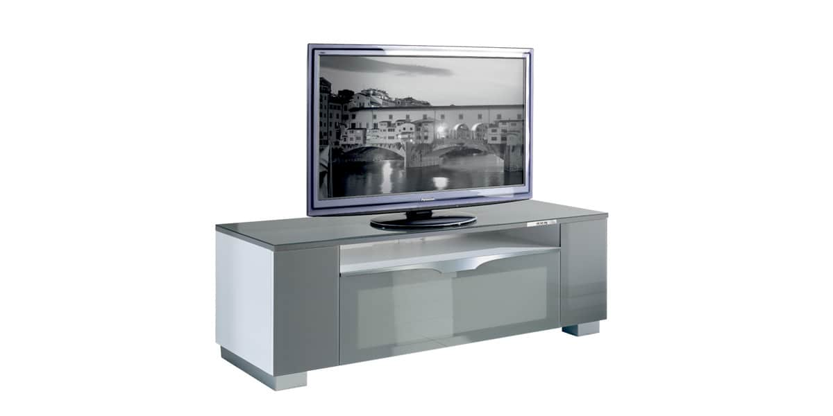 munari fi151 gris meubles tv munari sur easylounge. Black Bedroom Furniture Sets. Home Design Ideas