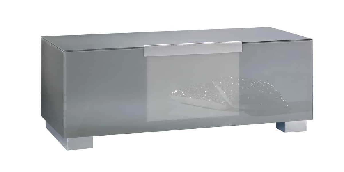 Munari mi311 gris meubles tv munari sur easylounge - Meuble tv infrarouge ...