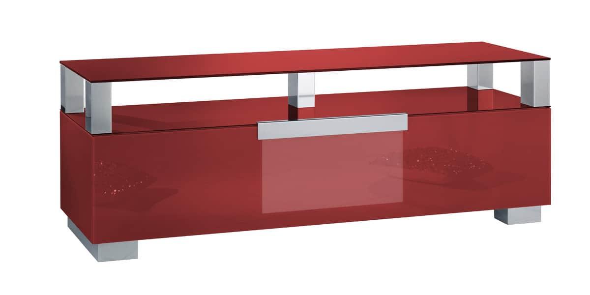 munari mi314 rouge meubles tv munari sur easylounge. Black Bedroom Furniture Sets. Home Design Ideas