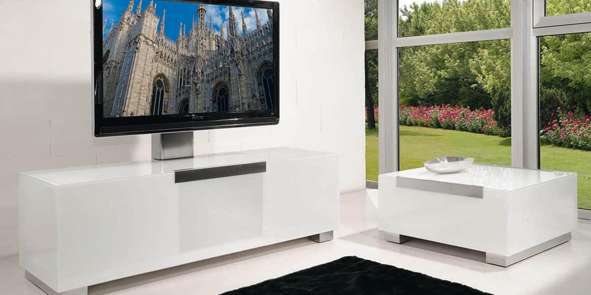 Meuble Tv Blanc Munari : Munari Mi319 Blancmeubles Tv Munari Sur Easylounge
