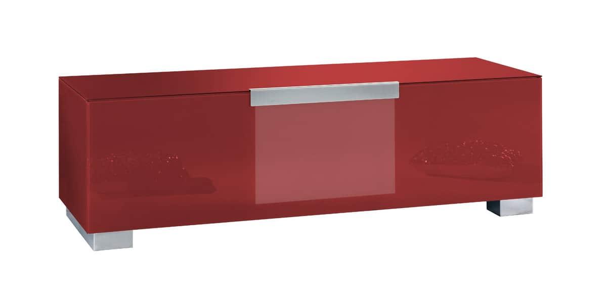 Munari mi322 rouge meubles tv munari sur easylounge - Meuble tv rouge ikea ...
