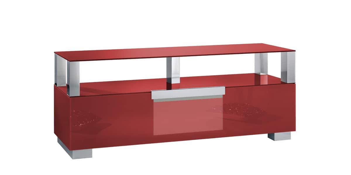 Munari mi328 rouge meubles tv sur easylounge - Ikea meuble tv rouge ...