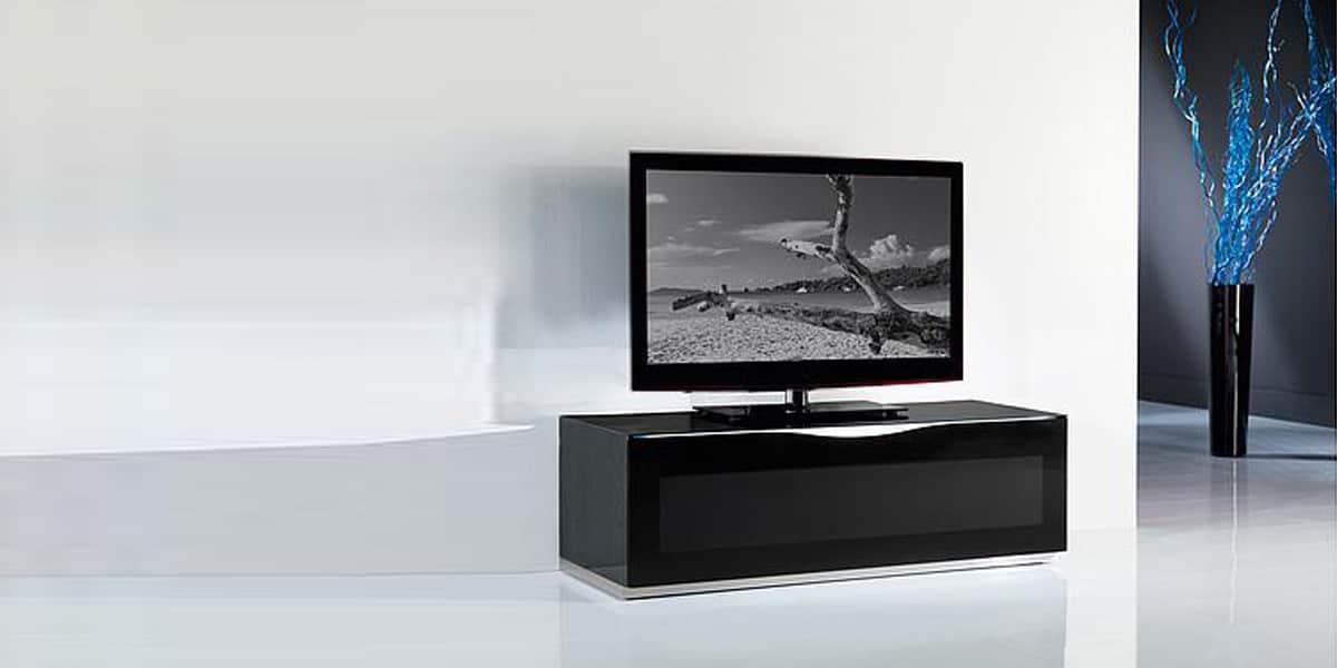 Munari MO150GR  Meubles TV Munari sur EasyLounge -> Meuble Tv Laqué Gris Taupe Modena