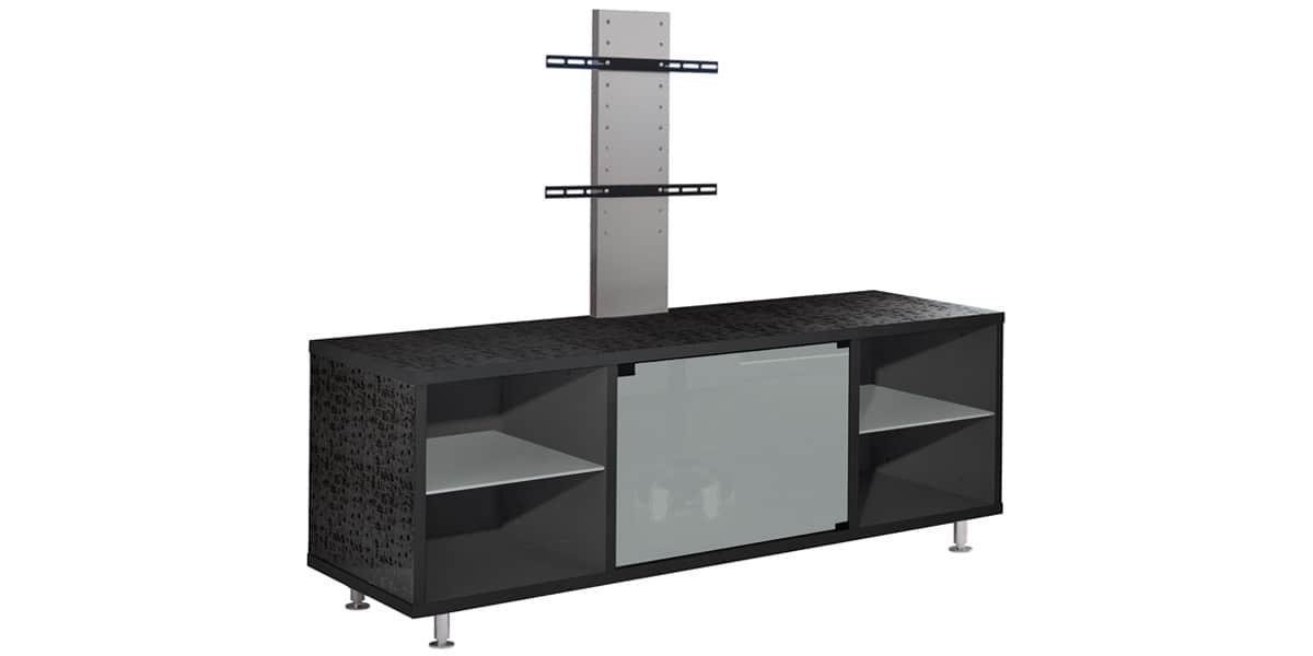 munari mt150 301 blanc avec pieds - Meuble Tv Blanc Laque Sans Pied