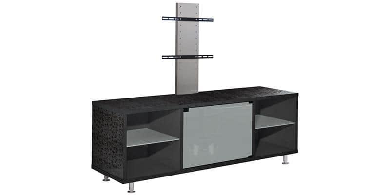 munari mt150 301 blanc avec pieds meubles tv munari sur easylounge. Black Bedroom Furniture Sets. Home Design Ideas