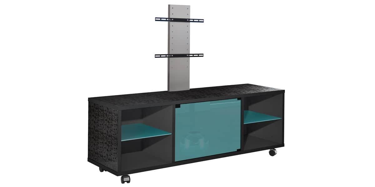 munari mt150 301 bleu meubles tv munari sur easylounge. Black Bedroom Furniture Sets. Home Design Ideas