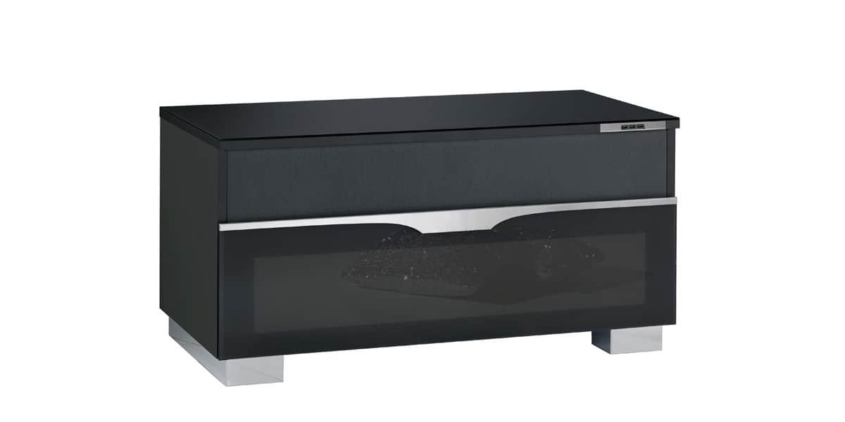 meuble tv avec emplacement pour enceinte centrale solutions pour la d coration int rieure de. Black Bedroom Furniture Sets. Home Design Ideas