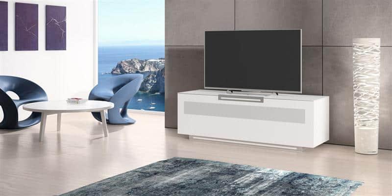 Meuble Tv Munari : Meuble Tv Munari Pavia Elite Pe014 Blanc Mat