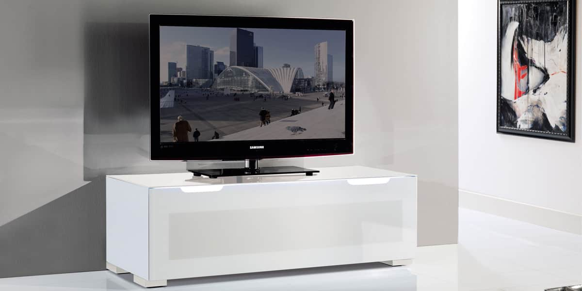 Meuble Tv Blanc Munari : Munari Ps125 Blancmeubles Tv Munari Sur Easylounge