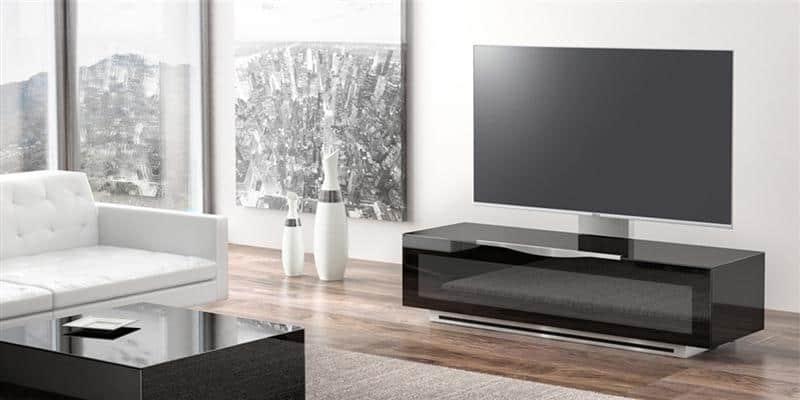 munari pv022 096 noir meubles tv munari sur easylounge. Black Bedroom Furniture Sets. Home Design Ideas