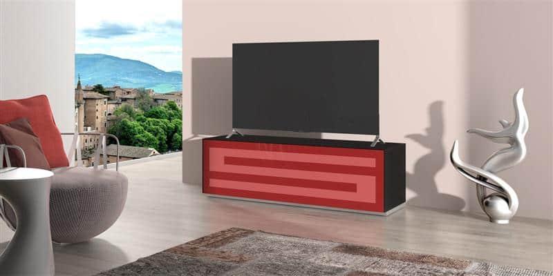 Munari Rainbow 152 Noir P-Rouge