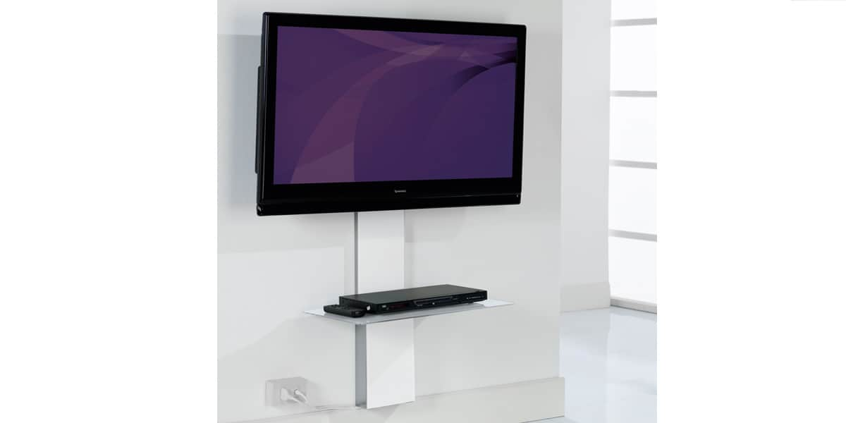 munari sp901 blanc accessoires supports tv sur easylounge. Black Bedroom Furniture Sets. Home Design Ideas