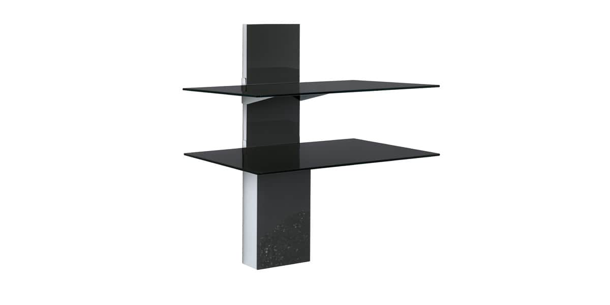munari sp902 noir accessoires supports tv sur easylounge. Black Bedroom Furniture Sets. Home Design Ideas